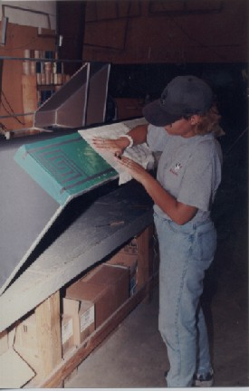 Lettering An Awning Step By Step